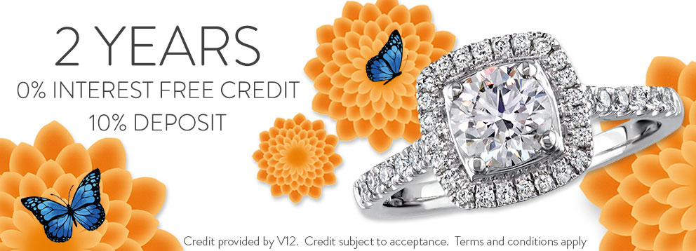 2 Years Interest Free Credit for Portfolio of Fine Diamonds at Lunns