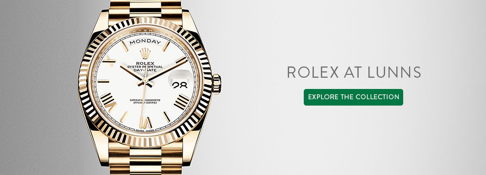 Rolex Day Date Oyster Perpetual Watches at Lunn