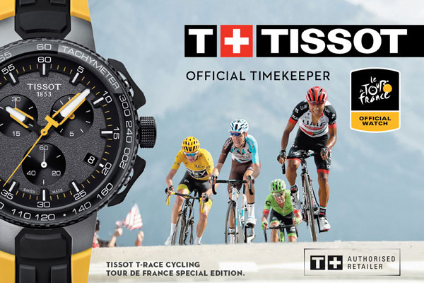 Tissot Watches at Lunns Jewellers