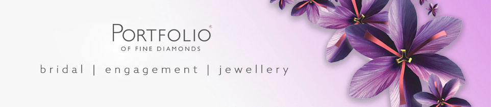 Portfolio of fine diamonds