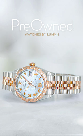 visit Lunns Jewellers pre~owned-watches section