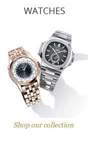 visit Lunns Jewellers watches section
