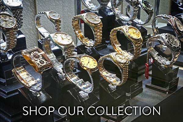 Shop the Lunns Pre-Owned Watches Collection