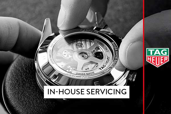 tagheuer in house servicing banner