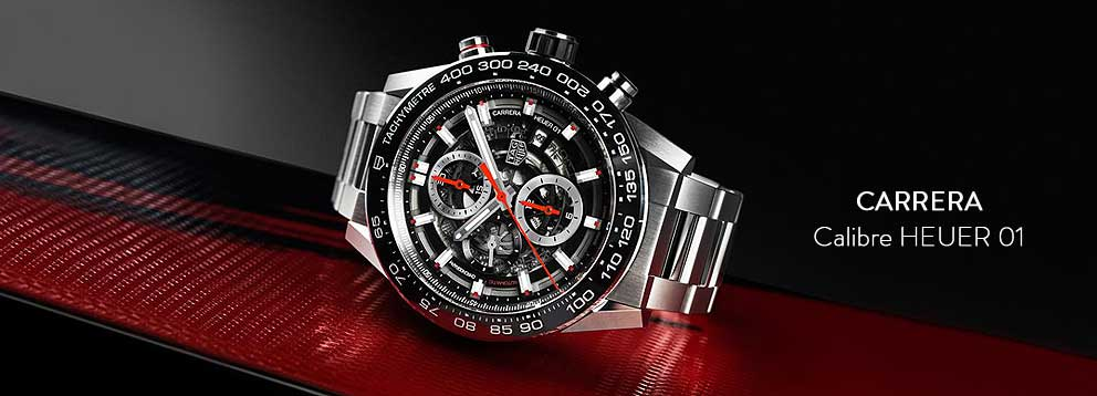 Tag Heuer Carrera from Lunns