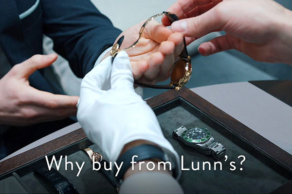 Why Buy a watch from Lunns